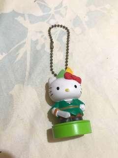 🚚 🌹近全新日本Hello kitty 7-11集點印章公仔小飛俠彼得潘