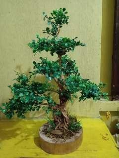 Artificial bonsai tree