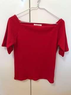 Lowrys Farm 深紅色上衣 #newbieFeb19