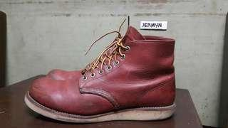 Red Wing 8166 round toe Size 10.5d