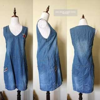 Soft Denim Jumper Dress