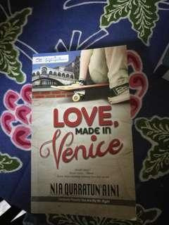 Love Made In Venice - NIA QURRATUN'AINI