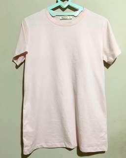 Stradivarius pink soft shirt
