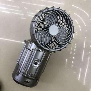 🚚 Solar camping charging fan lamp