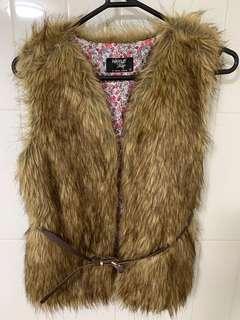 Wayne Cooper Jnr Fluffy Vest size 12