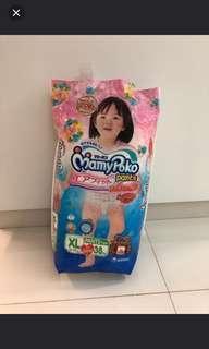Mamypoko XL Pants 38pc (girls)