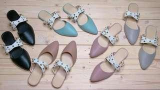 HIGH END TRENDY MULES ( VALENTINO INSPIRED)