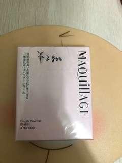 全新shiseido碎粉