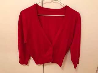 紅色針織上衣 Red Top #newbieFeb19