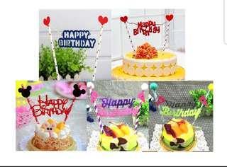 🚚 (3 for $7) Princess Cake Topper