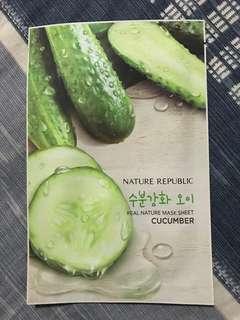 Nature Republic Cucumber Mask Sheet