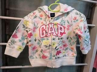 💯Baby GAP Jacket, with cute bear ears on hoddie