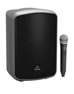 Rental of Battery Operated Portable PA Sound System (Fully wireless) - Behringer MPA200BT