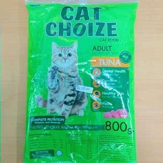 Makanan Kucing Cat Choize Cat Choise 800 Gr Repack