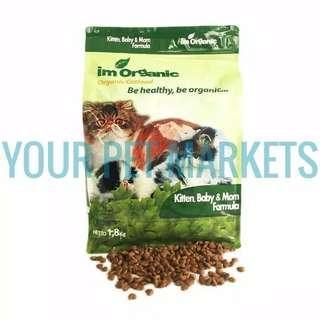 Makanan Kucing Lokal Im Organic 1.8 Kg Freshpack
