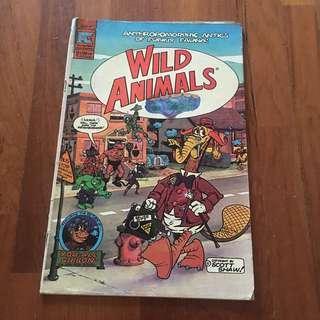 🚚 Wild animals comic pc comic