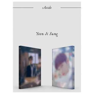 [Pre-order] YOON JI SUNG 윤지성 (1ST MINI ALBUM 미니앨범) - ASIDE (傍ver. || 白ver.)