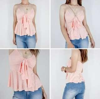 Summer Bow Tie Top
