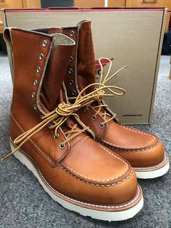 b51ae8d3d5a red wing boots | Air Miles | Carousell Singapore