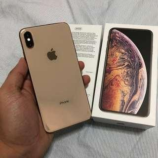 iphone xsmax gold 64gb myset
