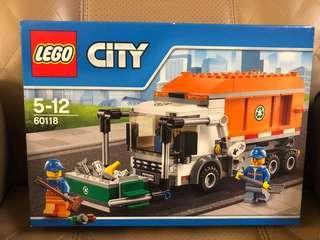 全新未開盒Lego 60118