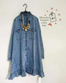 Tunik denim frell
