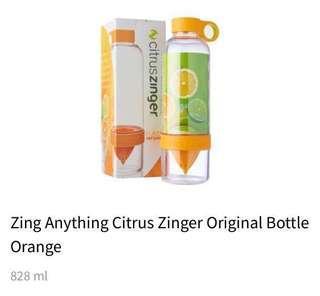 Citrus Zinger Bottle $2