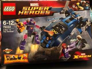 全新未開封Lego 76022 Marvel X-men