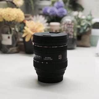 Sigma lens 24-70 mm F2.8 IF EX DG HSM (for Canon EF MOUNT)