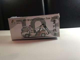 玩具車模型車韋川拖車微影