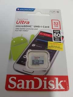 SanDisk Ultra microSDHC 32GB BRAND NEW! CHEAPEST!