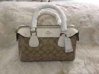 SALE! Coach 2 way sling Doctor bags