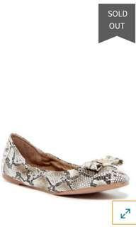 Cole Haan Tali Girls Ballerina Flats size 1 toddler sepatu anak