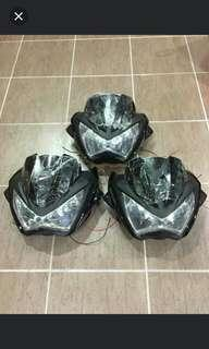 Headlamp z250 kopi2 modi breket /windshield