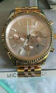 Mk watch watch and fossil