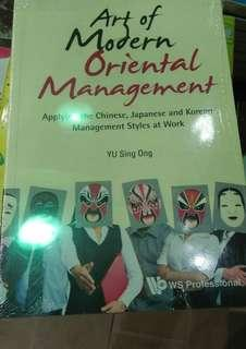 Art of Modern Oriental Management