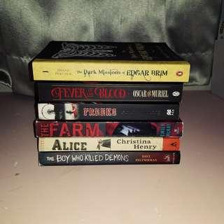 HORROR COLLECTION, Horror books to read