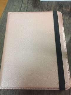 Ipad 2/3/4 rotating case in Rose Gold