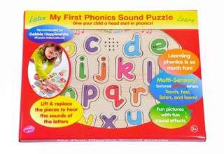 🚚 My first phonics sound puzzle
