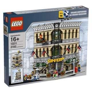 Lego Modular Grand Emporium 10211 (last set)
