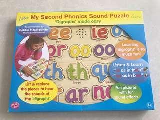 🚚 My second phonics sounds puzzle