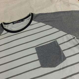 Stripped Gray Shirt