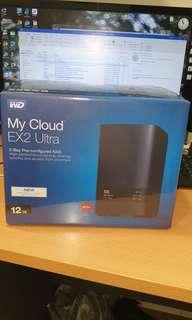 My Cloud Ex2 Ultra 12TB NAS
