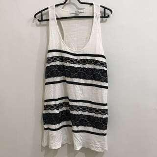Forever 21 Tank Blouse Lace