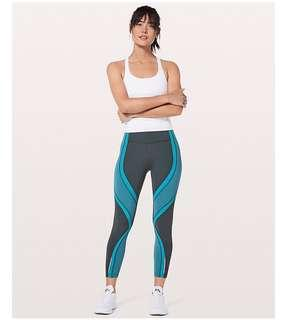 cc9e95d84 Lululemon Athletica Wild Twist 7 8 Tights Leggings