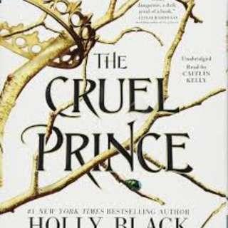 (ISO) Searching for 'The Cruel Prince' by Holly Black