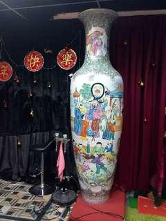 文革八呎大花瓶