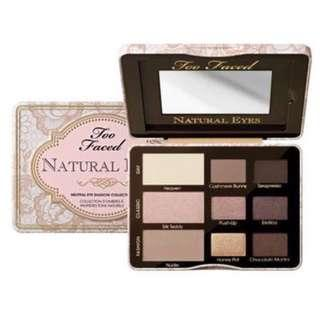 Too Faced 'Natural Eyes' eyeshadow palette