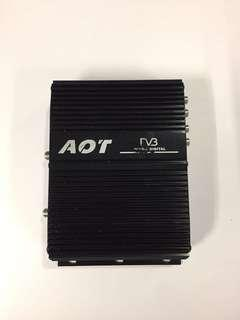 Used Car Amplifier with remote controller for sale