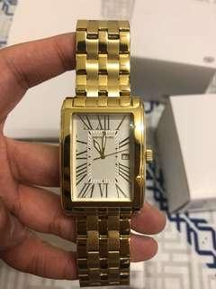 Pierre Cardin Men Golden stainless steel watch real man prestige
